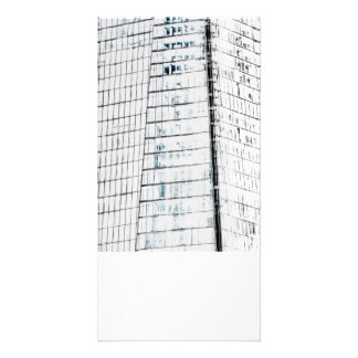 The Shard Abstract Art Photo Card Template