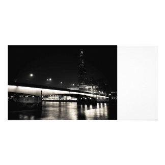 The Shard and London Bridge Personalised Photo Card