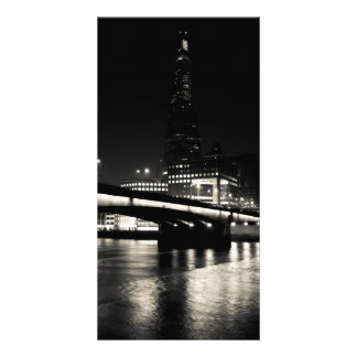 The Shard and London Bridge Personalised Photo Card