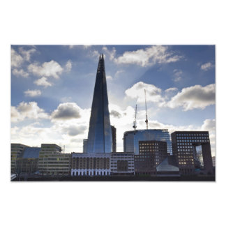The Shard and South Bank London Art Photo