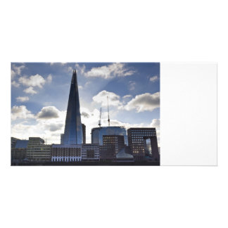 The Shard and South Bank London Photo Card Template