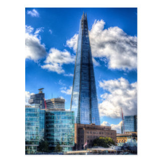 The Shard and South Bank Postcard