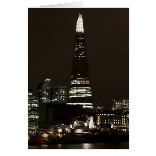 The Shard and Southbank London Greeting Cards