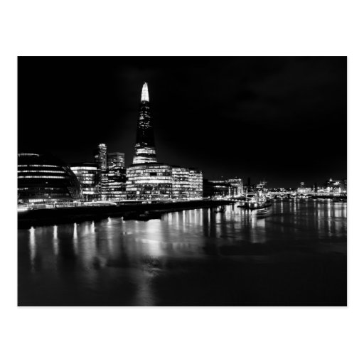 The Shard and Southbank London Post Card