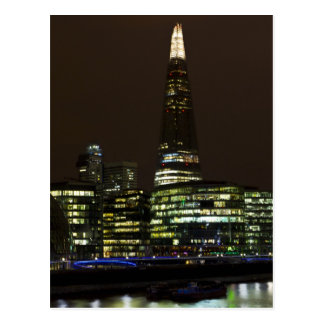 The Shard and Southbank London Postcard