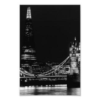The Shard and Tower Bridge Art Photo