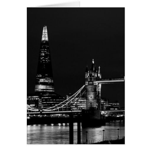 The Shard and Tower Bridge Greeting Card