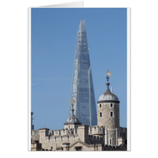 The Shard and Tower of London Greeting Card