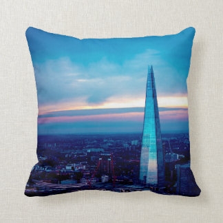 The Shard at Dusk Cushion