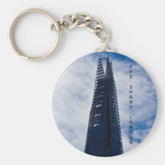 The Shard Basic Round Button Key Ring