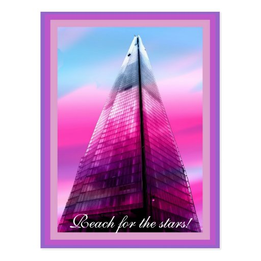 The Shard in London Post Card