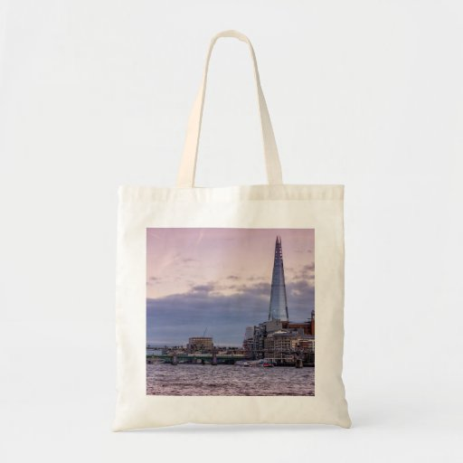 The Shard In The Evening, London UK Bags