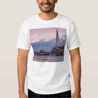 The Shard In The Evening, London UK T Shirt