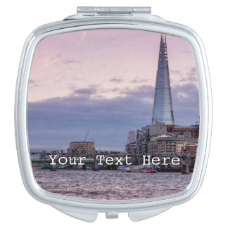 The Shard In The Evening, London UK Vanity Mirror