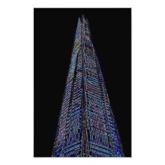 The Shard London Art Art Photo