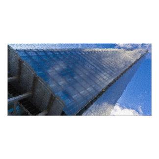 The Shard London Art Personalized Photo Card