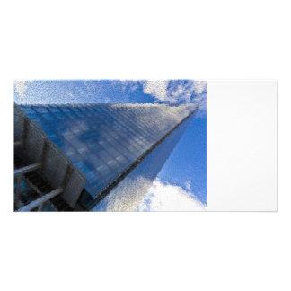 The Shard London Art Custom Photo Card