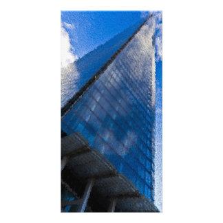 The Shard London Art Customized Photo Card