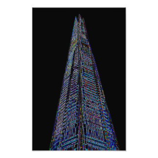 The Shard London Art Photo Print