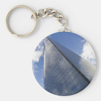 The Shard London Basic Round Button Key Ring