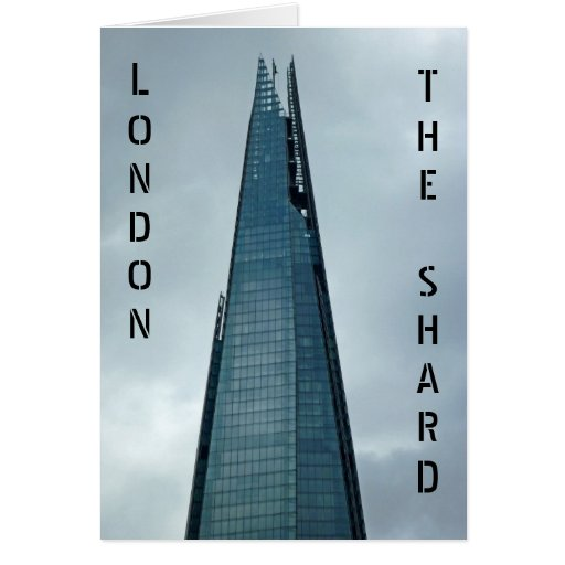 The Shard, London Greeting Cards