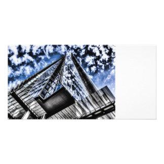 The Shard London Photo Card Template