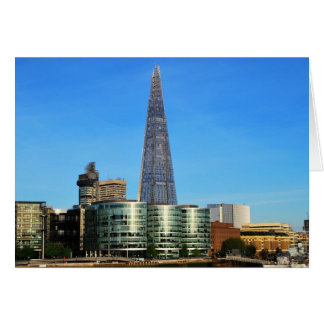 The Shard of Glass in London Note Card