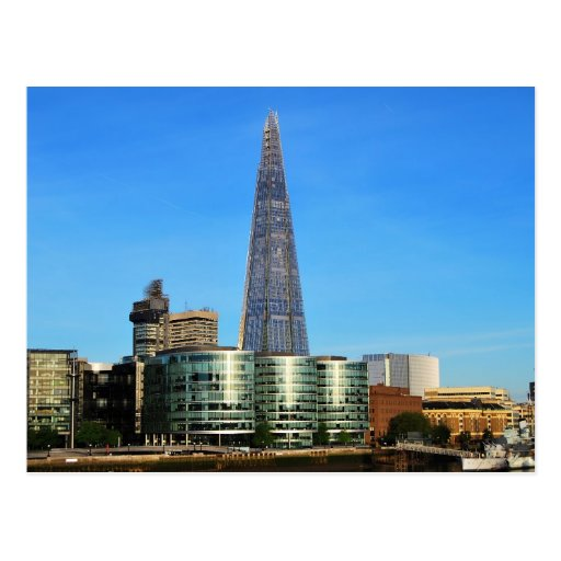 The Shard of Glass in London Postcard