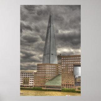 The Shard Skyscraper Poster
