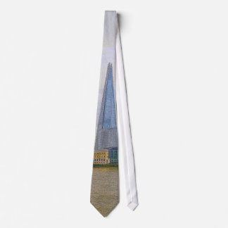 The Shard, Thames River, London, England Tie