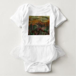 The Sharded Landscape Baby Bodysuit