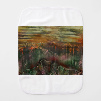 The Sharded Landscape Baby Burp Cloths
