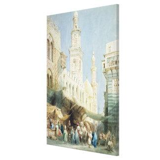 The Sharia El Gohargiyeh, Cairo Canvas Print
