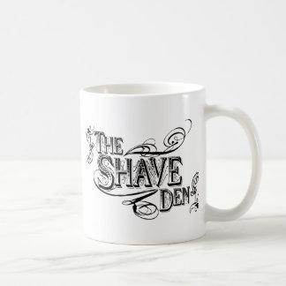 The Shave Den Basic White Mug