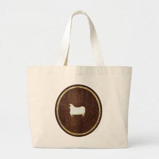 The Sheep 2009 Jumbo Tote Bag