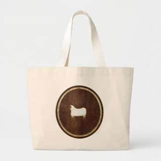The Sheep 2009 Large Tote Bag