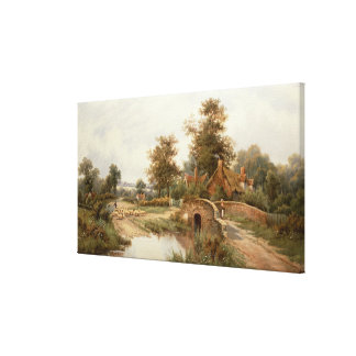 The Sheep Drover Canvas Print