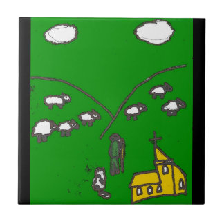 The Sheep Herder Tile