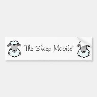 The Sheep Mobile Bumper Sticker