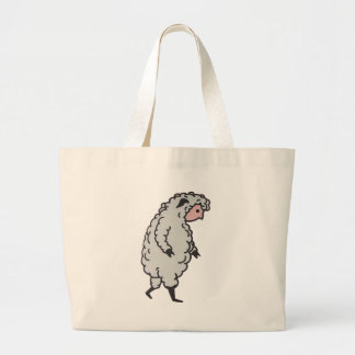 The Sheeple are here. Canvas Bag