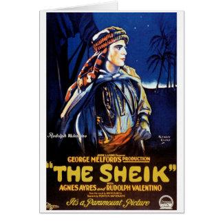 """The Sheik"" Card"