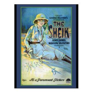 The Sheik Rudolof Valentino Postcard