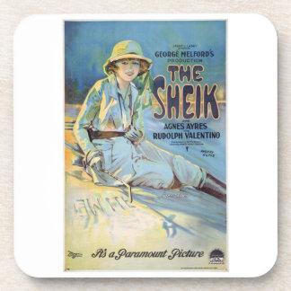 The Sheik Vintage Movie Coasters