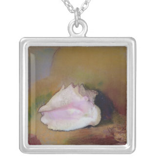 The Shell, 1912 Silver Plated Necklace