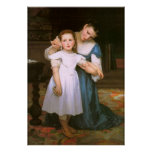 The Shell by William Bouguereau Print