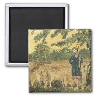 The Shepherd, from 'Songs of Innocence', 1789 (col Magnet