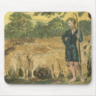 The Shepherd, from 'Songs of Innocence', 1789 (col Mouse Mat