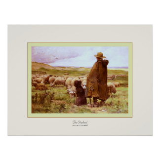 The Shepherd ~ Julien Dupré ~ Fine Art Print
