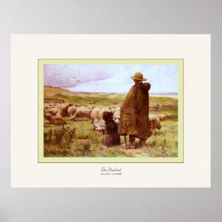 The Shepherd ~ Julien Dupré ~ Fine Art Print