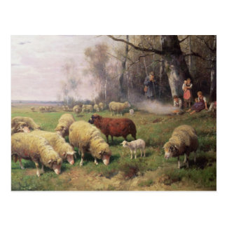 The Shepherd's Family Postcard